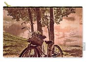Bicycle In The Park Carry-all Pouch