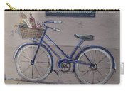 Bicycle Leaning On A Wall Carry-all Pouch