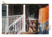 Bicycle On Porch Carry-all Pouch