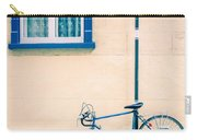 Bicycle On The Streets Of Old Quebec City Carry-all Pouch