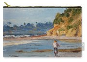 Bicycle Ride On Beach Carry-all Pouch