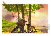 Bicycle Under The Tree Carry-all Pouch