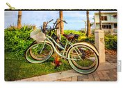 Bicycles Under The Palms Carry-all Pouch