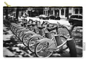 Bicycles - Velib Station - Paris Carry-all Pouch