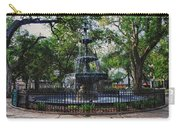 Bienville Square Fountain Closeup Carry-all Pouch