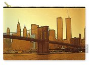 New York City - Big Apple Sunrise Carry-all Pouch