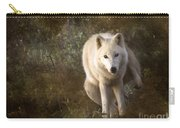 Big Bad Wolf Sprinkling The Grass Carry-all Pouch