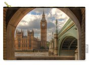 Big Ben Through The Arch Carry-all Pouch
