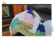 Big Blocks Patchwork Quilt Carry-all Pouch