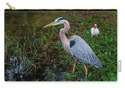 Big Blue And The Ibis Carry-all Pouch