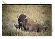 Big Buff - Bison - Buffalo - Yellowstone National Park - Wyoming Carry-all Pouch