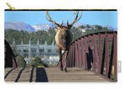 Big Bull On The Bridge Carry-all Pouch