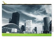 Big City And Green Fresh Meadow Carry-all Pouch