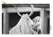 Big Cod Fish Hanging On The Hook Scale Carry-all Pouch