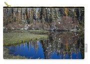 Big Cottonwood Canyon  Carry-all Pouch by Richard Cheski