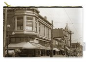 Big Curio Store Santa Cruz At 28 Pacific Avenue On The Corner Of Lincoln And Pacific. 1908 Carry-all Pouch
