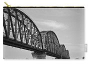 Big Four Bridge Bw Carry-all Pouch