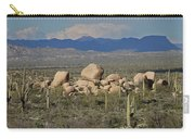Big Granite Boulder In The Desert Carry-all Pouch