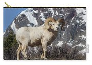 Big Horn Ram In Spring Carry-all Pouch