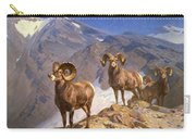 Big Horn Sheep On Wilcox Pass Carry-all Pouch