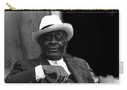 Big Jake Homage 1971 Bill Walker The Deacon The Great White Hope Globe Arizona Carry-all Pouch
