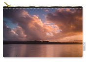 Big Lagoon Sunset Colors Carry-all Pouch