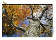 Big Orange Maple Tree Carry-all Pouch