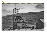 Big Pit Colliery Monochrome Carry-all Pouch