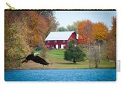 Big Red Barn Eagle Rocky Fork  Carry-all Pouch