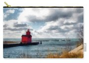Big Red Big Wind Carry-all Pouch