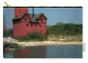 Big Red Holland Michigan Lighthouse Carry-all Pouch