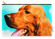 Big Red - Irish Setter Dog Art By Sharon Cummings Carry-all Pouch by Sharon Cummings