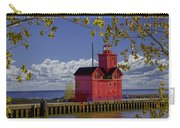 Big Red Lighthouse By Holland Michigan No.0255 Carry-all Pouch