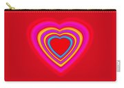 Big Red Love Carry-all Pouch