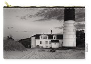 Big Sable Point Lighthouse In Black And White Carry-all Pouch