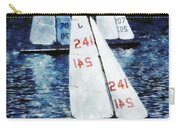 Big Sailors And Little Boats Carry-all Pouch