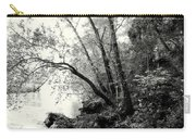 Big Spring In B And W Carry-all Pouch