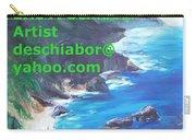 Big Sur Califorina Carry-all Pouch