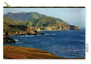 Big Sur Coastline Carry-all Pouch by Benjamin Yeager