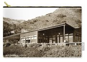 Big Sur Hot Springs Now The Esalen Institute California Circa 1961 Carry-all Pouch