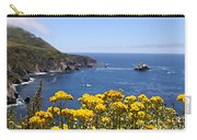 Big Sur Loves Yellow By Diana Sainz Carry-all Pouch