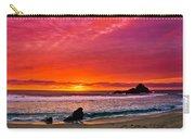 Big Sur Sunset Pfeiffer Beach Carry-all Pouch