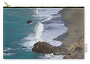 Big Sur Surf Carry-all Pouch by Art Block Collections