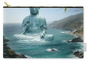 Big Sur Tea Garden Buddha Carry-all Pouch by Alixandra Mullins