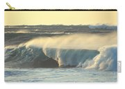 Big Surf At Sunset Carry-all Pouch