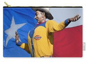 Big Tex And The Lone Star Flag Carry-all Pouch