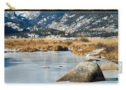 Big Thompson River Through Moraine Park In Rocky Mountain National Park Carry-all Pouch