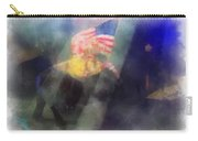 Big Top Elephant Riding Photo Art Carry-all Pouch