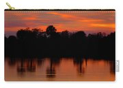 Big Cypress Sunset Carry-all Pouch