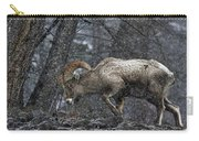 Bighorn Caught In A Blizzard Carry-all Pouch